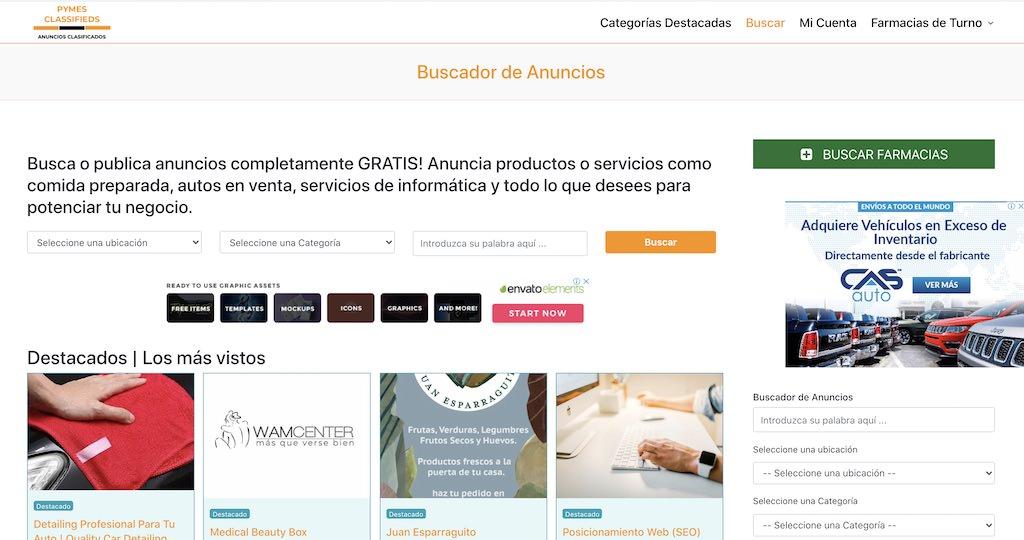 Publica Anuncios Clasificados Gratis en Pymes Classifieds