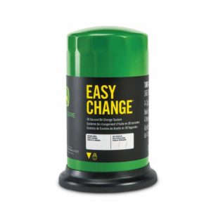 Sistema John Deere Easy Change de cambio de aceite en 30 segundos