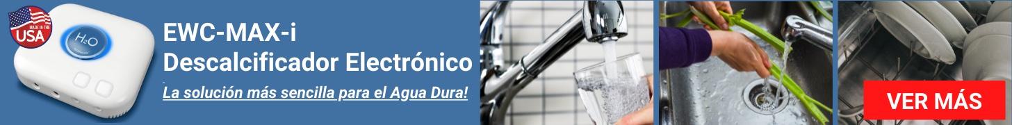 EWC-MAX-i Descalcificador Electrónico - La solución más sencilla para el Agua Dura