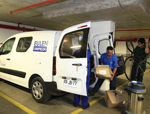Servicios de limpieza for Oficinas eulen