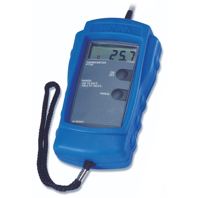 HI 955502Termómetros De 4-alambres Pt100