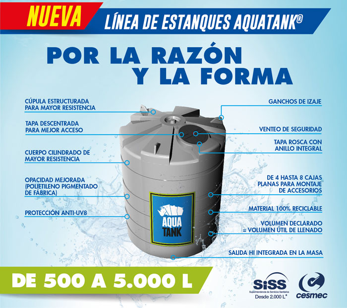 Estanques Verticales De Superficie Aquatank