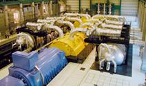 Power Industry Inset Turbine