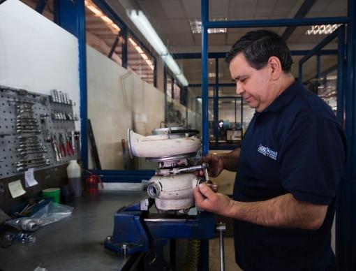 Mantención Y Reparación De Turbocompresores