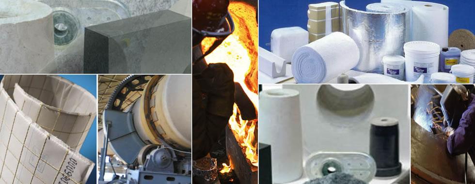 Productos, Aislantes Térmicos - Refractarios