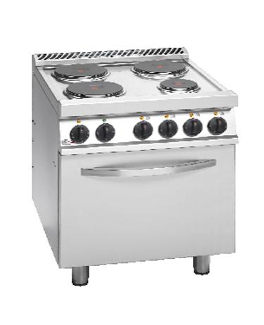 Cocina el ctrica for Cocina electrica consumo