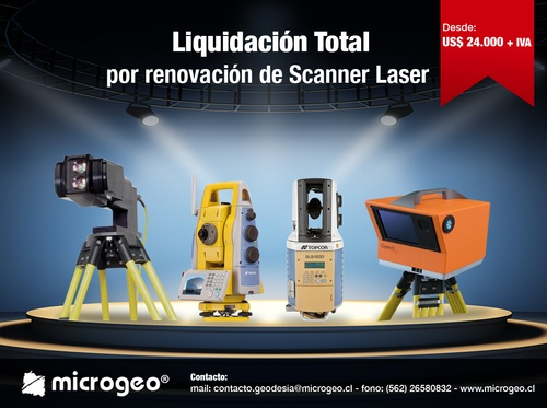 Liquidación Total De Scanner Laser