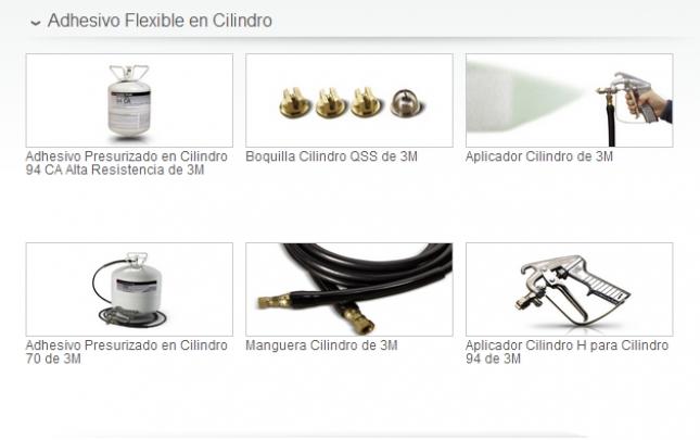 Adhesivo Flexible En Cilindro