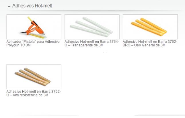Adhesivos Hot-melt