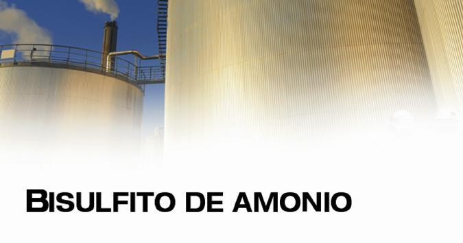Bisulfito De Amonio
