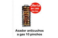 Asador Anticuchos A Gas