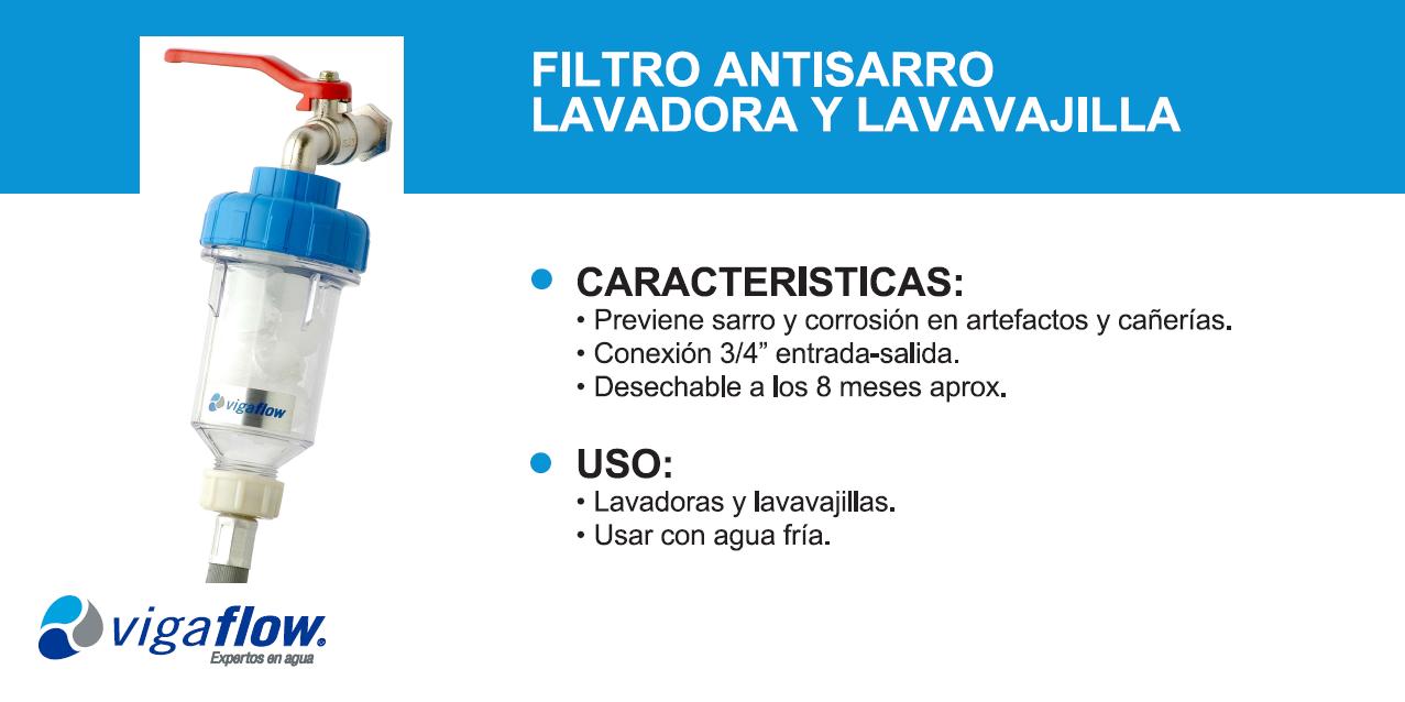 "Hogar €"" Filtro Antisarro Lavadora"