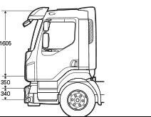 Cab Specifications For The New Volvo FL