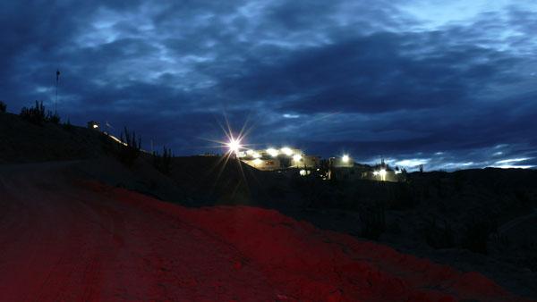 Zafranal Exploration Camp At Night