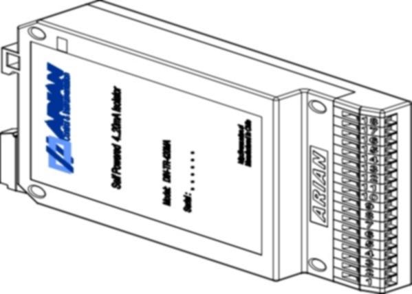 Transmisores Aisladores Para Riel DIN