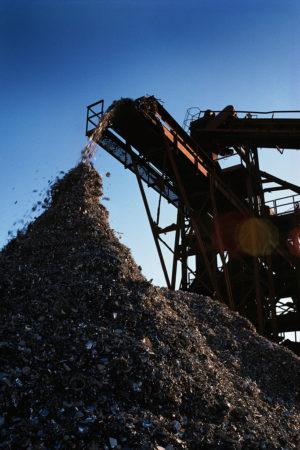 Environmental-shredded-waste