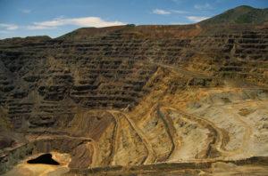Mining-deep-pit