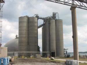 Silos-concrete-cementplant
