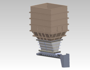 Structural-engineering-square-bin-feeder