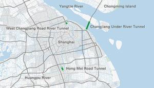 Road Tunnels In Shanghai