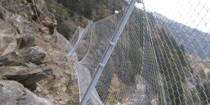 GBE-Barriere: Wirtschaftlichste Steinschlag-Barriere Dank Einfacher Installation