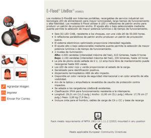 Litebox E-flood