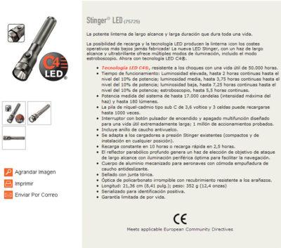 Stinger ® Led (75725