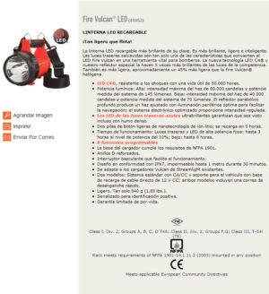 Fire Vulcan® LED (44452