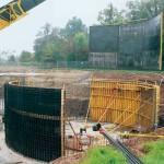 Radius Wall Formwork