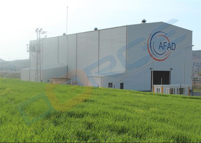 Steel Workshop/Warehouse/Aircraft Hangars
