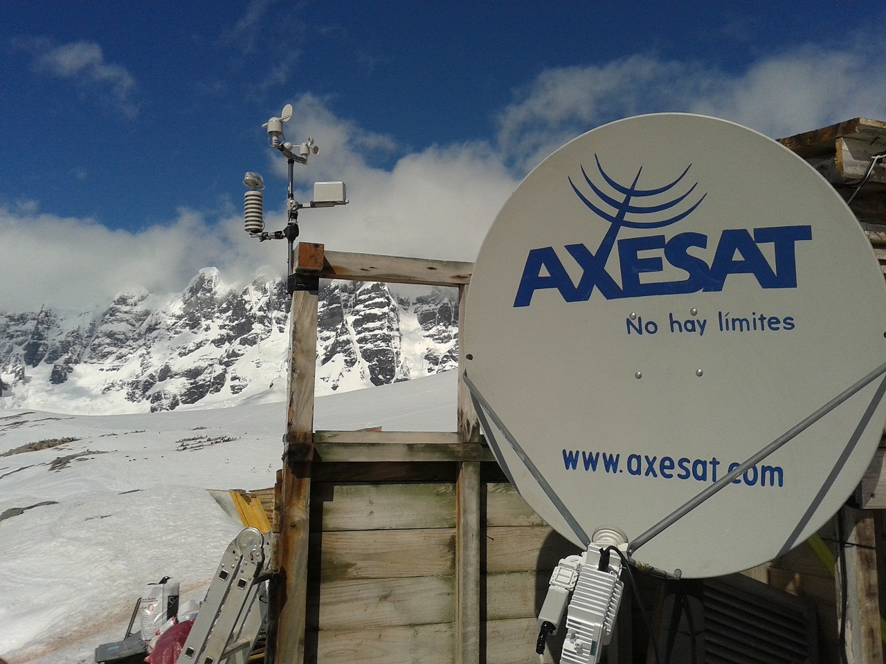 Antena-en-la-antartica