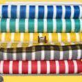 Malla Raschel Color Listada
