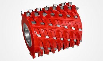 Fresa Multicorte Helicoidal Axial