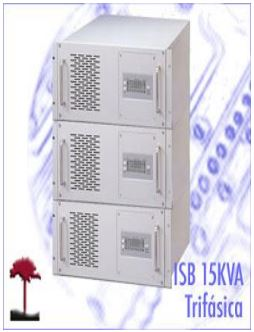 H3>SERIES INTERACTIVAS SENOIDAL ISB 15KVA