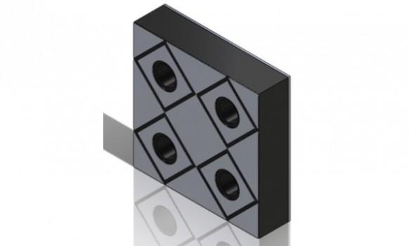 Abrasive Steel Rubber Liner