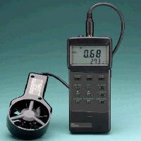 Anemómetros SPER SCIENTIFIC Anemómetro/Termómetro