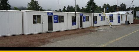 Containers Paso Fronterizo En Osorno