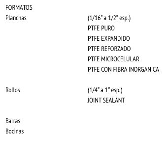 PTFE (Teflón