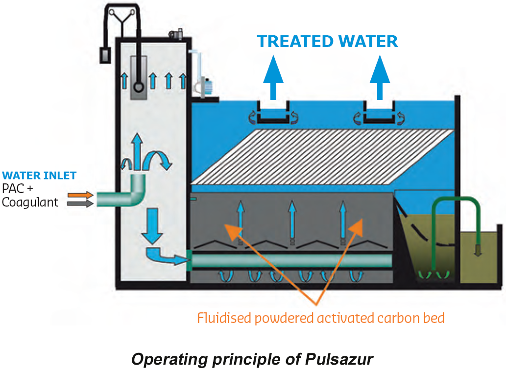 purification of water Water purification is the removal of contaminants from raw water to produce drinking water that is pure enough for human consumption or for industrial use substances that are removed during the process include parasites ( such as giardia or cryptosporidium) , bacteria, algae, viruses, fungi.