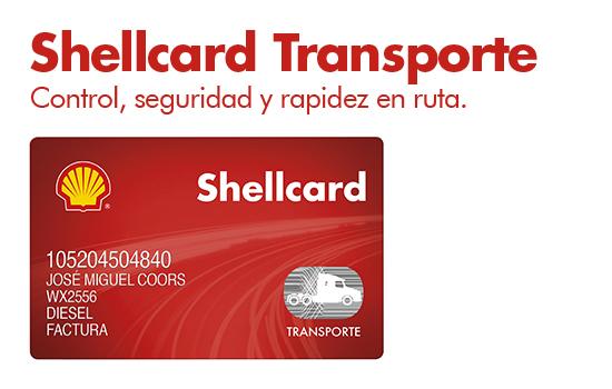 Shellcard Transporte