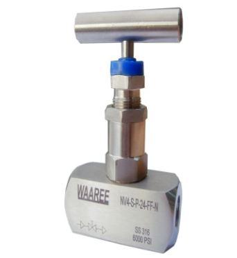 VÁLVULA DE AGUJA Agua/vapor/aire